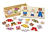 Melissa & Doug Wooden Bear Family Dress-Up Puzzle thumbnail