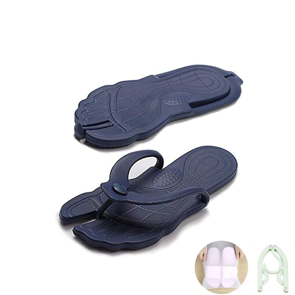 Foldable Portable Travel Thong Flip