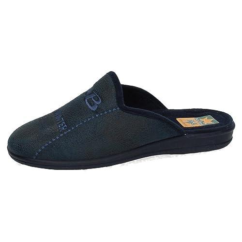 RUIZ BERNAL 956 Chinela Azul Marino Hombre Zapatillas CASA: Amazon.es: Zapatos y complementos