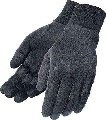 Tour Master Silk Mens Liner On-Road Motorcycle Gloves - Black / Large