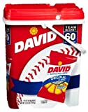 David 60 Count Sunflower Seeds With Team Bucket Case Pack 60 David 60 Count Sunflower Seeds With Te For Sale