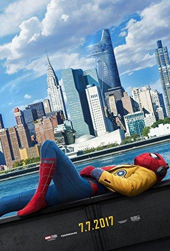 Spider-Man: Homecoming Original Promo Movie Poster 2017 Tom Holland Avengers Marvel