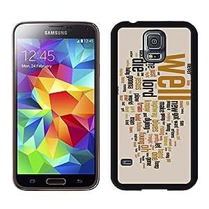 Samsung S5 Protective Skin bob dylan Samsung Galaxy S5 Black Phone Case 056