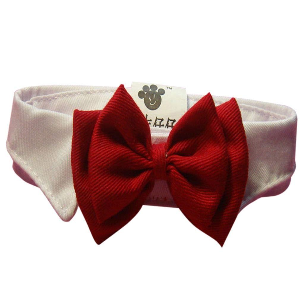 Morza Adorabile Gatto del Cane del Cucciolo dellanimale Domestico Gattino Giocattolo Papillon Cravatta Abbigliamento Collare