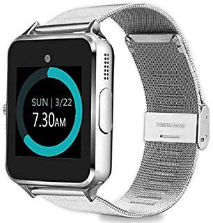 MyTECH Z60 Smart Watch Bluetooth Steel Strap Touchscreen with Camera, Watch Phone Sim Card Slot