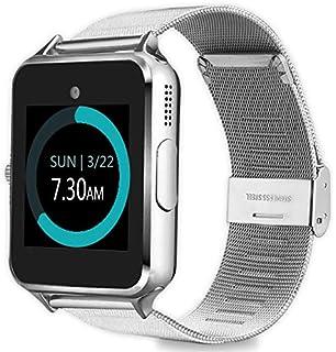 MyTECH Z60 Smart Watch Bluetooth Steel Strap Touchscreen with Camera, Watch Phone Sim Card Slot