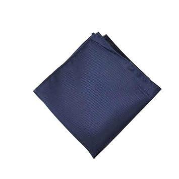 SKYyao Pañuelo de Bolsillo Hombres Bufanda Color sólido ...