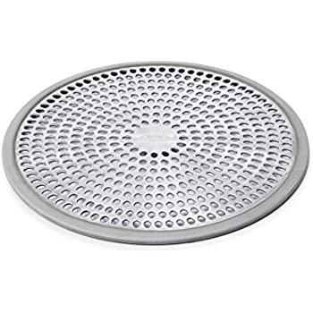 this item oxo good grips easy clean shower stall drain protector stainless steel u0026 silicone