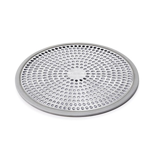 oxo-good-grips-easy-clean-shower-stall-drain-protector-stainless-steel-silicone