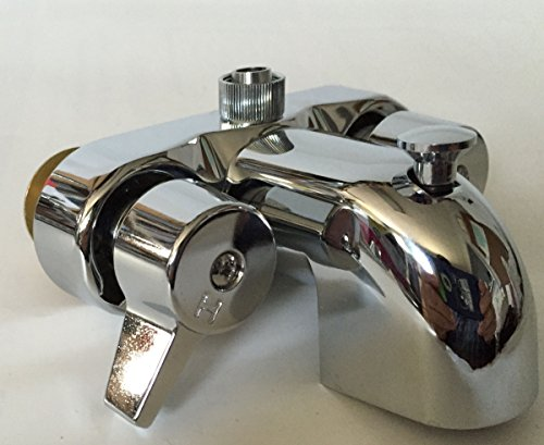 Clawfoot Foot Tub Faucet with Ceramic Cartridges ()