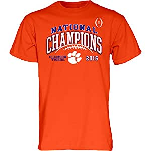 Clemson Tigers 2016 National Champions TShirt Orange (2017 championship) - M