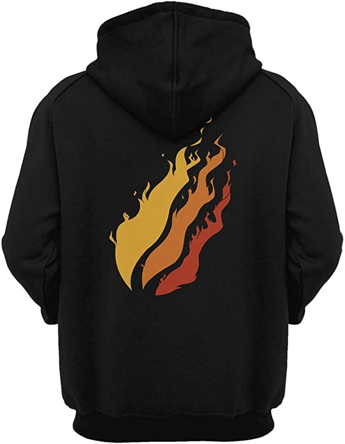 NIGUMIGU Preston Playz Youth Hoodie Preston Pizza Flame Kids Cotton Sweatshirt for Boys and Girls