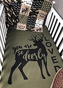 Amazon Com Baby Boy Hunting Quilt Baby Camo Woodland