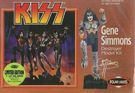 Kiss Gene Simmons Destroyer Polar Lights Model Kit