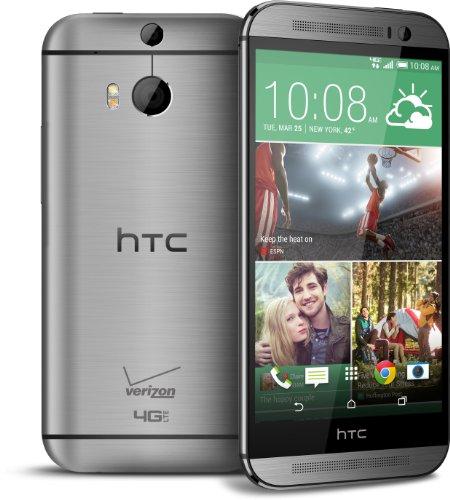 htc phones verizon 2015. amazon.com: htc one m8, gunmetal grey 32gb (verizon wireless): cell phones \u0026 accessories htc verizon 2015