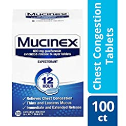 Chest Congestion, Mucinex 12 Hour Extend...