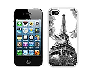 iphone 4S Cases,iphone 4 Case,Colorful Hbrid With Dot Case Cover Protector For iphone 4 4S,Eiffel Iphone 4 4s Cases White Cover