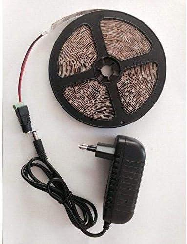 LED Streifen 7m warmweiss 352860LEDs/m nicht Wasserdicht und LED Netzteil