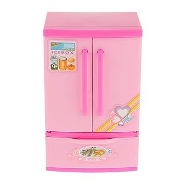 Kinder Spielhaus Mini-Kühlschrank Kinder Spielzeug Pädagogisches ...