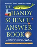 img - for Handy Science Answer Book [Handy Answer Book Series] by Carnegie Library of Pittsburgh, Science and Technology Depar [Visible Ink Press,2002] [Paperback] 3rd Edition book / textbook / text book