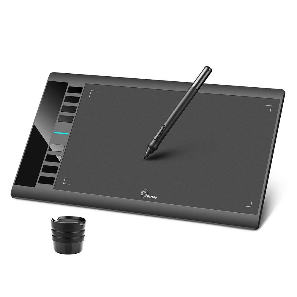 Tableta Digitalizadora PARBLO A610 25.4x15.2cm 2048 NP