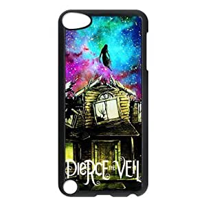 FEEL.Q- Protective Plastic Back Case for iPod Touch 5 (5th Generation) - Pierce The Veil