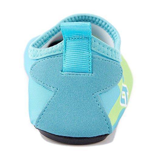 GFtime Wasser Schuhe, Unisex Männer Frauen Barfuß Quick Dry Slip On Aqua Schuhe für Schwimmen Beach Pool Surf Yoga Sport Himmelblau