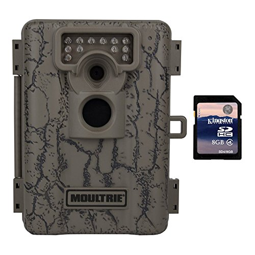Moultrie A-5 5 MP Low Glow Trail Game Camera + SD Card (Certified Refurbished) (5 Mp Digital Game)