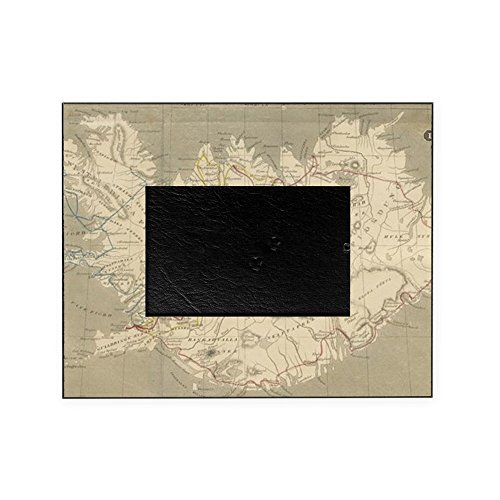 CafePress - Vintage Map Of Iceland (1819) - Decorative 8x10 Picture Frame by CafePress
