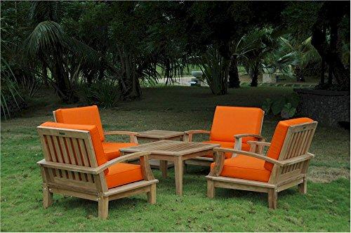 - Anderson Teak Set-114 Brianna Deep Seating Armchair & Brianna 32
