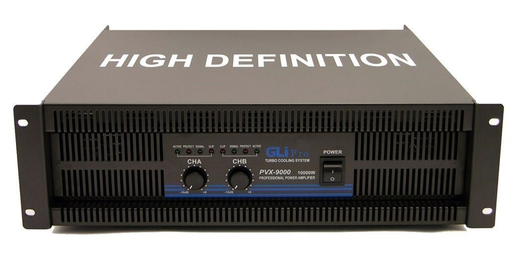GLi PVX9000 19-Inch Rack Mountable 10,000-Watt Max Equalizer by GLI