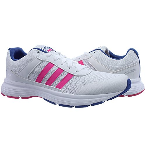 Rose Chaussures Footwear blanc Sport W Vs Blanc De Shocking Cloudfoam City Bleu Bleu Femme Adidas nWIz7fqPx