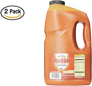 product image for Frank's RedHot Original Cayenne Pepper Sauce, 128 oz (2 Pack)