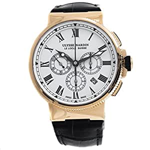 Ulysse Nardin Marine Chronograph automatic-self-wind mens Watch 1506-150LE (Certified Pre-owned)