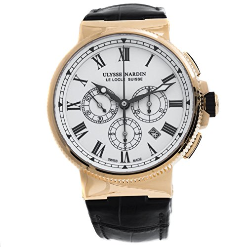 Ulysse-Nardin-Marine-automatic-self-wind-mens-Watch-1506-150LE-Certified-Pre-owned