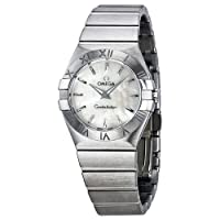 Omega Constellation Mother of Pearl Dial Stainless Steel Ladies Watch 12310276005001 by Omega