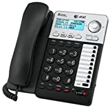 Best Corded With Speakerphones - AT&T ML17929 2-Line Corded Telephone, Black Review