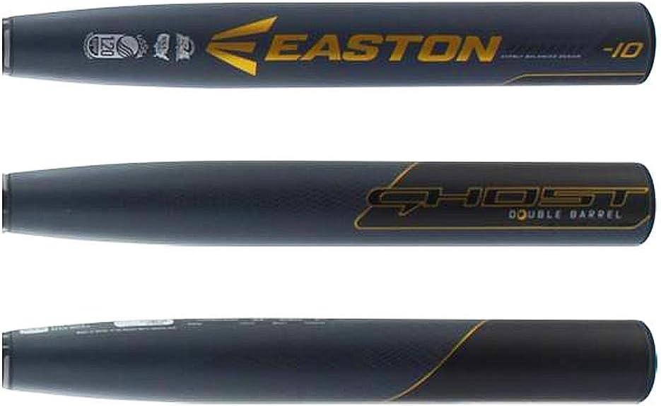 USSSA 2019 FP EASTON Ghost -10 USSSA Fastpitch Softball Bat 1.20 BPF XTX Resin Matrix 2 Piece Composite Hyperskin Grip Cert NITROCELL Foam ConneXion+ Double Barrel // NSA // ISA