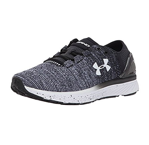 Under Armour Women's Charged Bandit 3, Black/White/White, 9.5 B(M) US by Under Armour