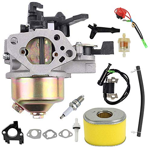 LIYYOO 16100-ZF6-V01 Carburetor Kit Replacement for Honda Engine Generator GX340 GX360 GX390 11HP 13HP Toro 22308 22330 Lawnmower Cultivator Water Pumps ()