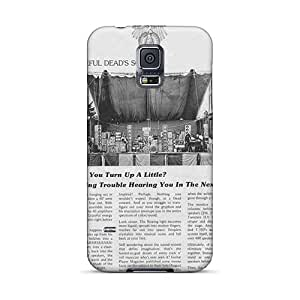 Shock-Absorbing Cell-phone Hard Cover For Samsung Galaxy S5 (bWb8417HeTS) Custom Vivid Grateful Dead Pictures