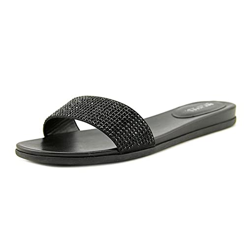 1a1d2ce66605 MICHAEL Michael Kors Women s Eleanor Slide Black Satin Sandal