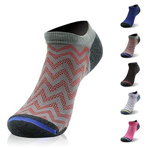 Low Cut Running Socks, Gmark Boys' Ankle Sports Casual Novelty Dry Running Bamboo Fiber Socks (Triathlon Low Cut)