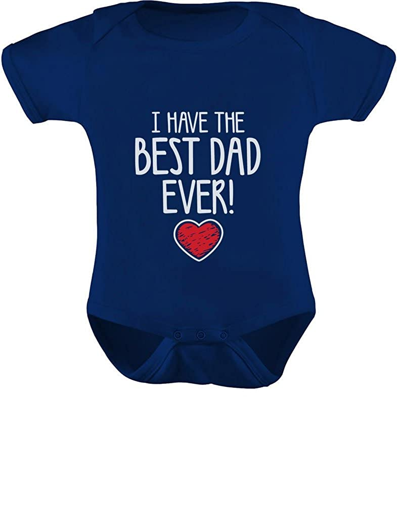 TeeStars - I Have The BEST DAD EVER Cute Unisex Baby Onesie 3-6 months Navy G0PMt3lgj00j9ZQ