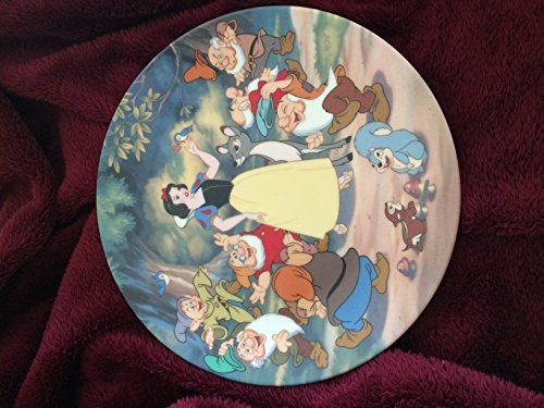 Snow White & the Seven Dwarfs Bradford Exchange Collector's Plate