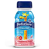 PediaSure Nutrition Drink, Strawberry, 8-Ounce Bottles (Pack of 24) (Packaging May Vary)