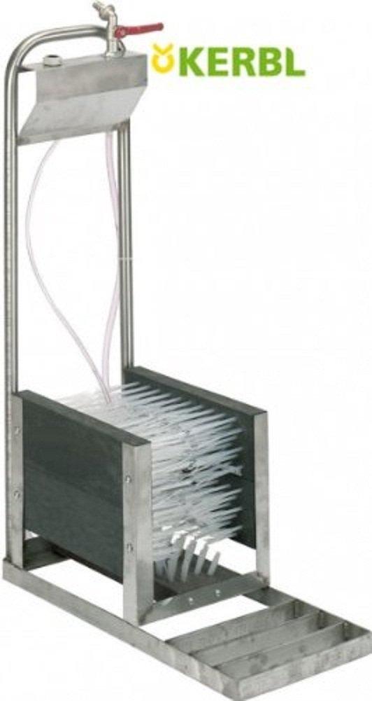 Kerbl 29320 Stiefelreiniger mit Schlauchanschluß