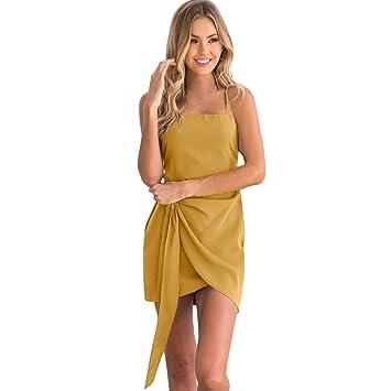 11ef00e66affb 女性 夏 バックレス ミニドレス イブニング パーティー ドレス YOKINO ホットセール 細身 ミニ ドレス ワンピース