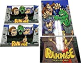 Gulf Coast Decals Arcade1up Cabinet Riser Graphics - Rampage Graphic Sticker Decal Set