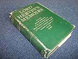 img - for Lord Hervey's Memoirs by Romney Sedgwick (Ed.) book / textbook / text book